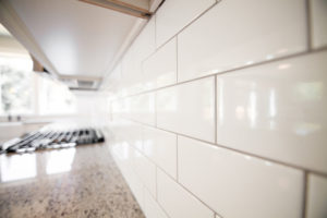 Subway Tile in Kitchen