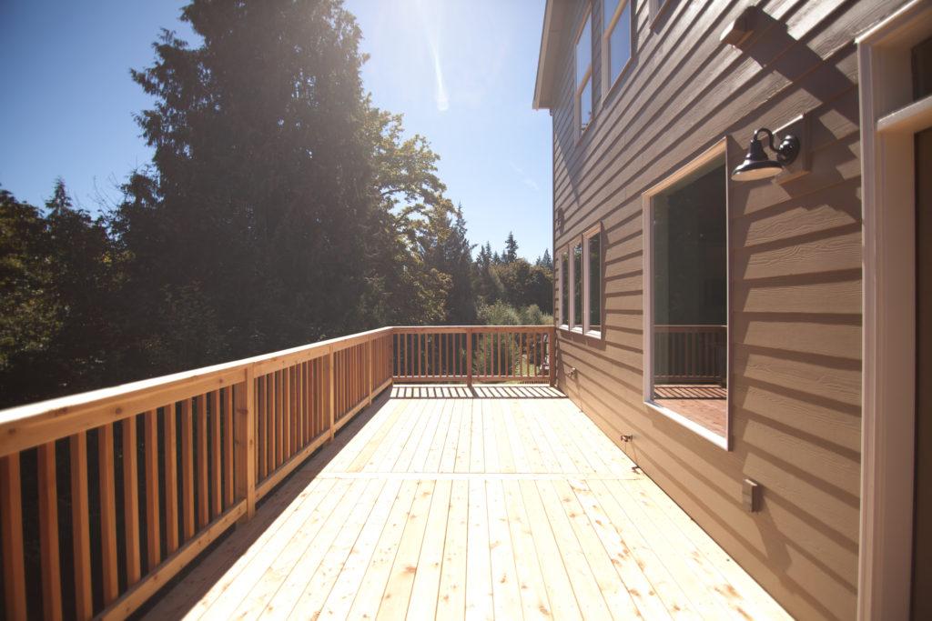 Exterior Deck View
